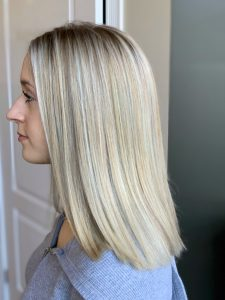 Shiny Blonde Colour