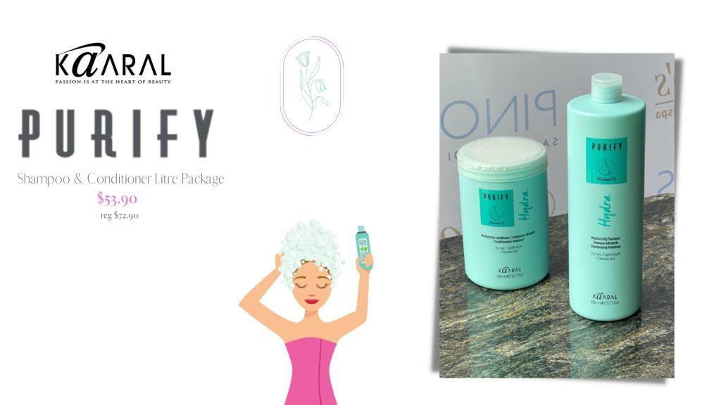 Purify Shampoo & Conditioner Litres